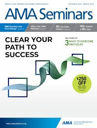 Ama Seminars By Americanmanagementassociation Issuu