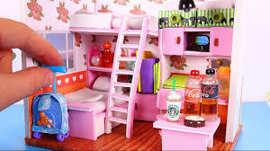 DIY Dollhouse Girl Room [NOT a Kit]