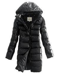 Buy Moncler Women Moka Hooded Long Down Coat Black Quilted ... & Buy Moncler Women Moka Hooded Long Down Coat Black Quilted Outerwear -  $220.15 Cheap Moncler Coats Adamdwight.com