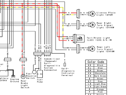 running led license plate lights which tail light wire to tap check out the electrical schematic below