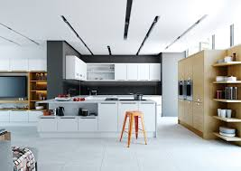 Astounding Contemporary Open Plan Kitchen Design Images  Kitchen Contemporary Open Plan Kitchen Living Room