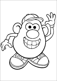 mr potato head drawing. Simple Head Mr Potato Head Drawing At GetDrawings With