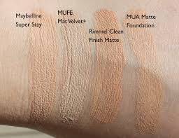 up for ever mat velvet matifying foundation foundation although this is matte it doesn 39 t