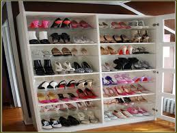 Shoe Organizer Ideas Gorgeous Closet Shoe Organizer Idea Winda 7 Furniture