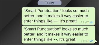 Punctuation Quotes How To Turn Off Smart Punctuation On Your Iphone And Ipad