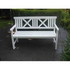 white garden bench. Perfect White In White Garden Bench