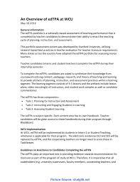 Interesting Edtpa Assessment Handbook An Overview Of Edtpa A