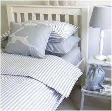 grey ticking stripe duvet cover home design remodeling ideas