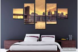 newyork bridge 2  on creative images wall art with creative wall decal
