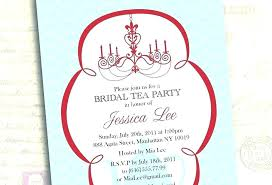 Free Bridal Shower Invitation Templates For Word Cool High Tea Baby Shower Invitation Templates Free Template Party Word