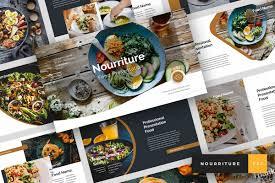 Food Presentation Template Nourriture Food Beverages Powerpoint Template