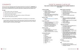 038 Event Planning Checklist Template Word Business Plan