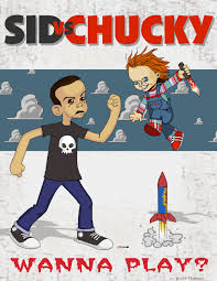 toy story 4 everyone meets chucky. Contemporary Toy Sid Vs Chucky By BBTillustrator Intended Toy Story 4 Everyone Meets D