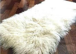 grey mongolian faux fur rug sheepskin bed blanket beige color fireproofing lamb rugs grey mongolian faux fur rug best sheepskin