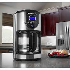 kitchenaid programmable coffee maker kitchenaid cup programmable coffee maker reviews on kitchenaid kcmcu personal coffee maker
