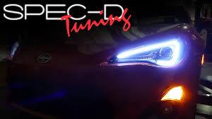 Scion Frs Led Lights Specdtuning Installation Video 2013 Scion Fr S Led Projector Headlights