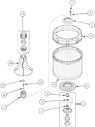 Index agitatordrivebellandwashtubparts whirlpool washer wiring diagram at w freeautoresponder co