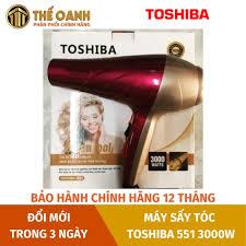 Máy sấy tóc [ CÔNG SUẤT LỚN] Máy sấy tóc Toshiba 551 3000W