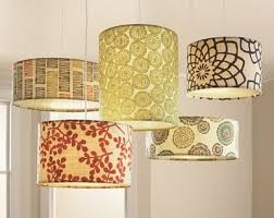 Image result for diy fabric covered drum shade