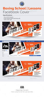 facebook cover photo template boxing cover template