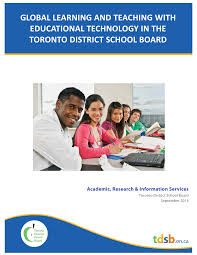 Tdsb Organizational Chart Pdf Global Learning And Teaching With Educational