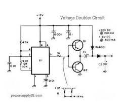 index power supply circuit circuit diagram com 12v dc voltage doubler circuit