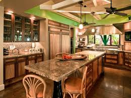 Tropical Kitchen Design Custom Decorating Ideas