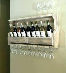 wall wine glass rack s racks wood mounted uk