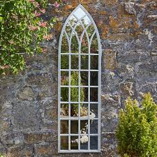 gothic tall outdoor mirror ludlow