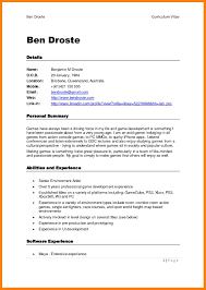 10 Free Printable Curriculum Vitae Template St Columbaretreat House