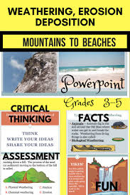 best great powerpoint presentations ideas  weathering erosion deposition pp presentation facts fun and application
