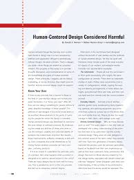 Principles Of Human Centred Design Pdf Human Centered Design Considered Harmful
