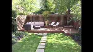 Small Picture Easy Low maintenance garden design ideas YouTube