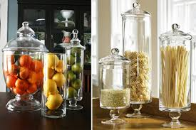 Apothecary Jars Decorating Ideas Spring mantel decor glass apothecary jars kitchen ideas 27