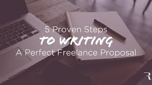 steps to write the best lance proposal template  5 proven steps to writing a perfect lance
