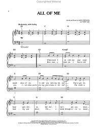 all of me sheet music piano easy all of me piano sheet music review music products