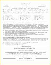 New Leadership Trainer Sample Resume Resume Sample