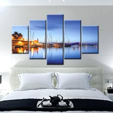panel canvas wall art landscape large vertical wall art five panel canvas printed photo drawing