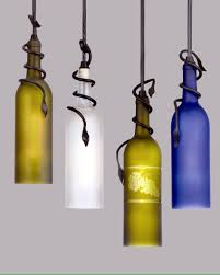 80+ Homemade Wine Bottle Crafts. Pendant LightsDiy ...