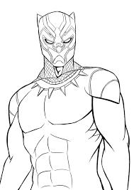 12 Disegni Di Black Panther Da Colorare Draw 3 Disegni Colori E