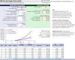 Savings Calculator Excel Template Excel Savings