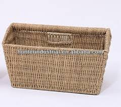 Seagrass Magazine Holder Seagrass Magazine Holder Buy Straw Magazine OrganiserWoven 1