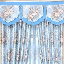 vintage blue curtains chic peony fl leaf baby blue vintage curtains blue vintage kitchen curtains vintage blue curtains