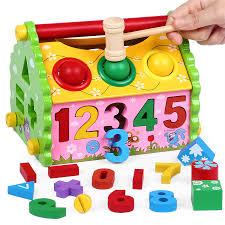 Children early education educational toys boy female baby 1-2-3-4- USD 13.98]