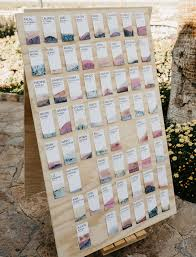 Diy Wedding Seating Chart Picture Of Modern Diy Wedding Seating Chart