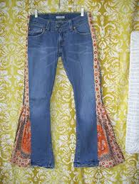 how to make hippie jeans hippie bell bottom jeans i should make myself