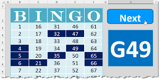 Bingo Ball Generator Bingo Template How To Excel