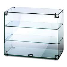 delighful case lincat gc36 3 tier 06m glass display case with open back for