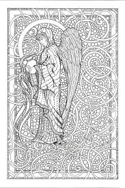 Small Picture Angel Coloring Pages For Adults Holiday Coloring online Angel