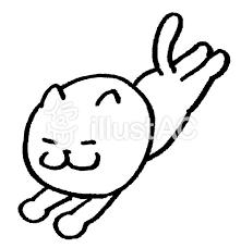 猫 飛ぶイラスト No 578459無料イラストならイラストac